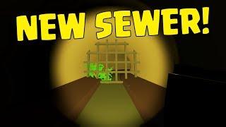 Exploring Berlin Sewer & Looting Prison! - Ep.1 Unturned Duo Survival (Lets Play Multiplayer)