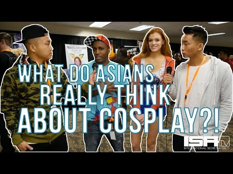 What do Asians REALLY Think About Cosplay?! - LEVEL: ASIAN w/ The Fung Bros