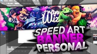 SPEED ART #1 | Banner personal | FranWIZ