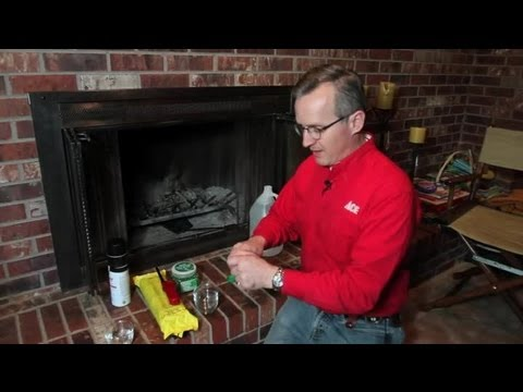 How to Get a Smoke Smell Out of a Fireplace : Home Repair ...