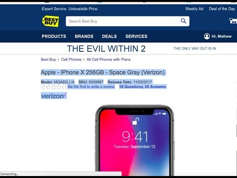 How to Pre Order/Buy iPhone X Sim Free without a Carrier