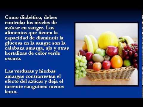 Qué Pueden Comer Los Diabéticos - Haz Clic Aquí - YouTube