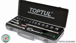 Обзор набора профессионального инструмента Toptul GCAD1806(, 2018-05-03T07:06:09.000Z)