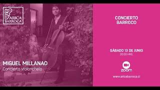 Conciertos Barrocos - Miguel Millanao
