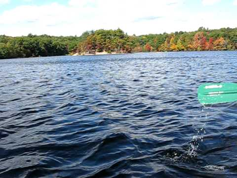 Canoeing at Hopkinton State Park