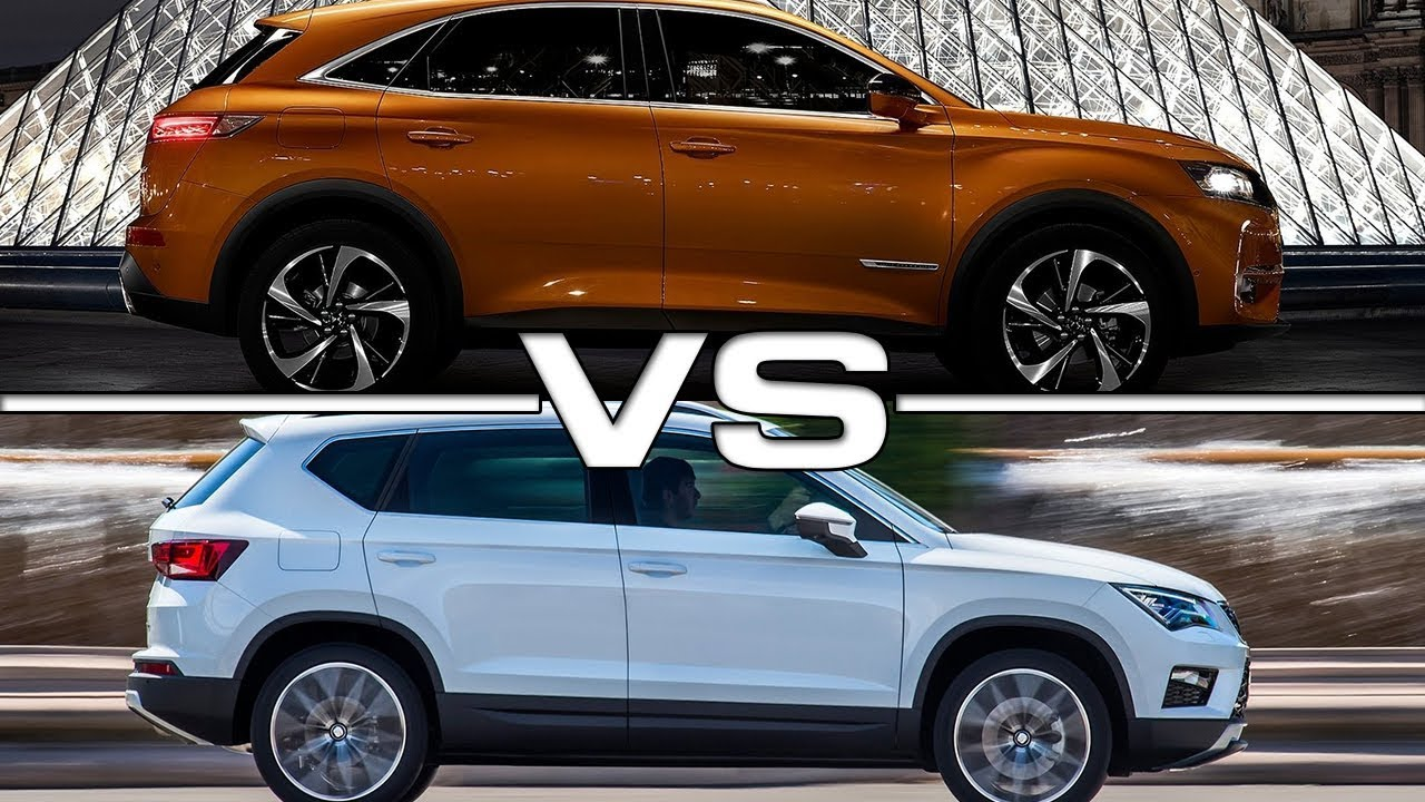 2018 ds7 crossback vs 2018 seat ateca youtube. Black Bedroom Furniture Sets. Home Design Ideas