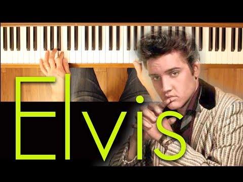 She's Not You (Elvis Presley) [Intermediate Piano Tutorial]