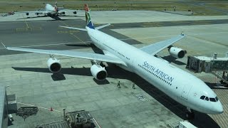 South African Airways A340-600 Business Class Cape Town to Jo