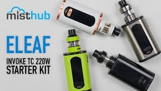 Eleaf Invoke 220W TC Kit with Ello T Tank Video