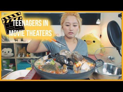Seafood Soup [해물탕] Mukbang | KEEMI