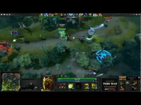 EG vs Na`Vi TD 11 WB Final Game 2