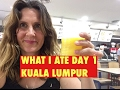 MY FIRST DAY IN KUALA LUMPUR || RAW VEGAN FOOD I ATE