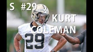 Kurt Coleman raw footage from Saints minicamp