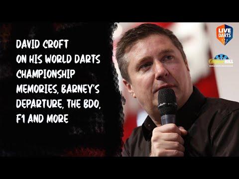 David Croft on his World Darts Championship memories, Barney's departure, the BDO, F1 and more