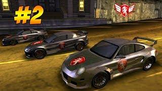 """Прохождение """"Need for Speed: Carbon Own The City"""" #2 - Nissan 240 SX - Первый босс и первый тюнинг"""