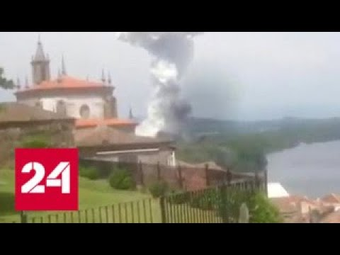 Взрыв пиротехники в Испании: уточненные данные