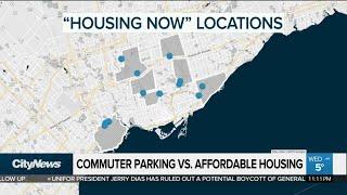 Commuter parking vs. affordable housing
