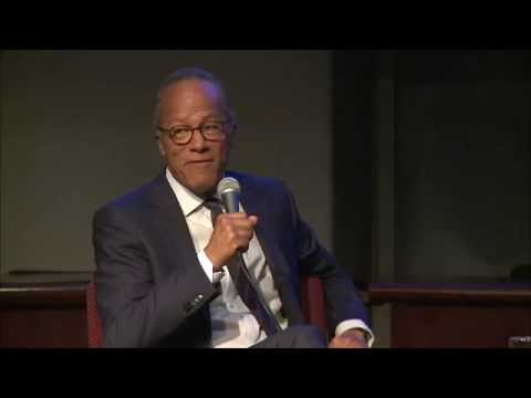An evening with Lester Holt ~ A conversation on Journalism Ethics with Betsy West