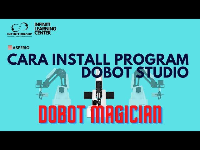 Cara Install Dobot Studio