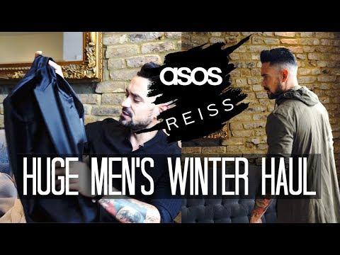 Huge Men's Winter Haul | ASOS REISS | Carl Thompson