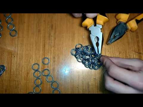 Японское плетение кольчуги 12 в 2