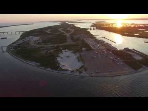 Captree State Park From Above, Long Island, NY