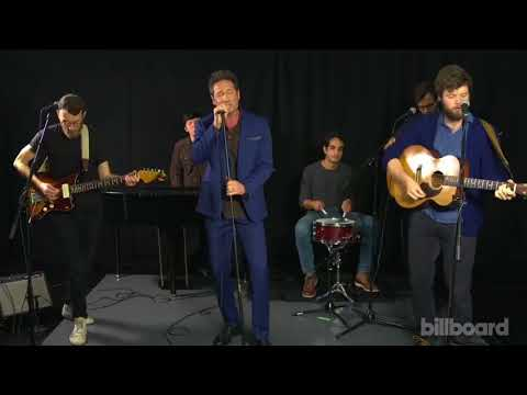 David Duchovny performing on billboard Live