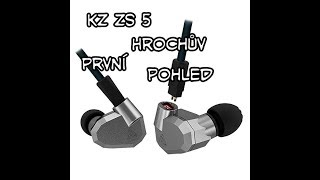 Čínská sluchátka kz zs5 za pár dolarů + Lg v20 Bang and Olufsen=husí kůže Hrochova