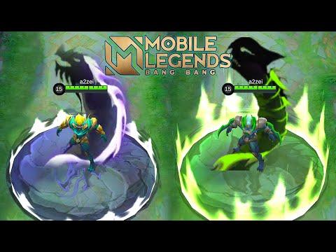 Yu Zhong Biohazard Skin VS Emerald Dragon Skin Mobile Legends Bang Bang