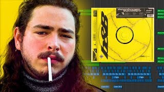 TURNING POST MALONE'S FULL ALBUM INTO ONE SONG ​(beerbongs & bentleys) - HipHop/Rock