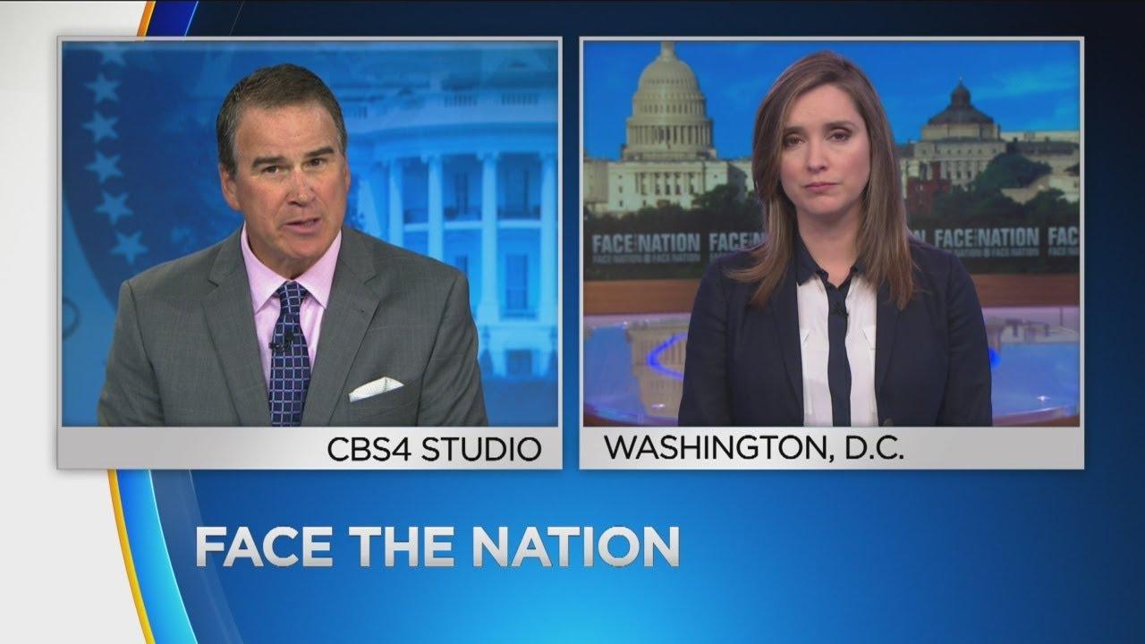 Face The Nation Host Talks School Shootings, North Korea