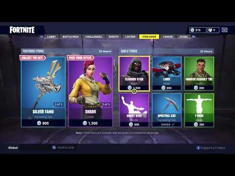 New Fortnite Item Shop Today October 17 October 18 Battle