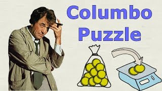 Columbo Logic Puzzle - Gold Coins on Penny Scale - Job Interview Brain Teaser