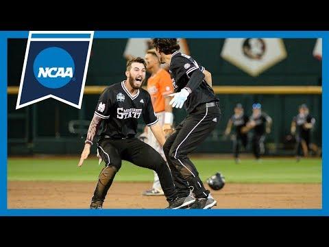 Mississippi State's Improbable 9th-inning Comeback Vs. Auburn | 2019 CWS