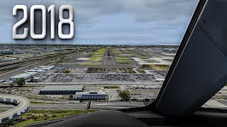 New Flight Simulator 2018 in 4K | Spectacular Approach and Landing in New York [Ultra Realism]