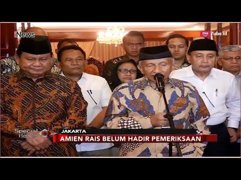 Amien Rais Mangkir dari Panggilan Polisi Soal Kasus Ratna Sarumpaet - Special Report 05/10