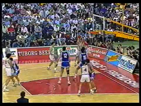 15.04.1993 3RD PLACE MATCH (FINAL 4 ATHENS) REAL MADRID - P.A.O.K. 70-76