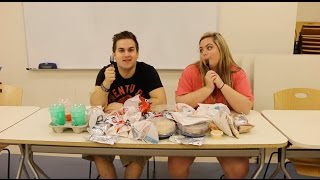 WE BOUGHT EVERYTHING FROM TACO BELL!!!!