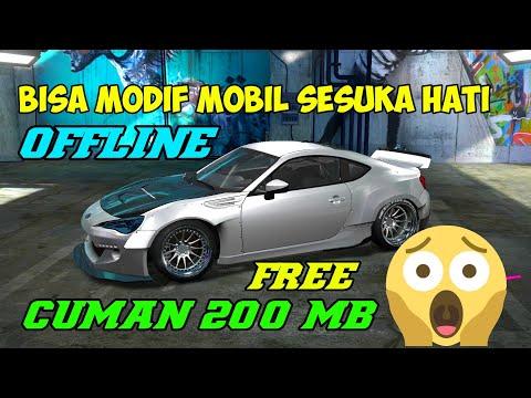 Game Android Offline Modif Mobil Bisa Ganti Body Cuman 200Mb