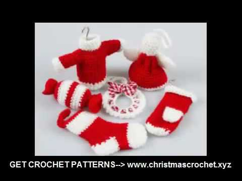 Crochet Christmas Stocking Ornament Pattern Free Crochet Projects