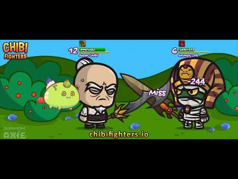 Chibi Fighters integrates Axies pets