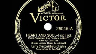 1938 HITS ARCHIVE: Heart And Soul - Larry Clinton (Bea Wain, vocal)