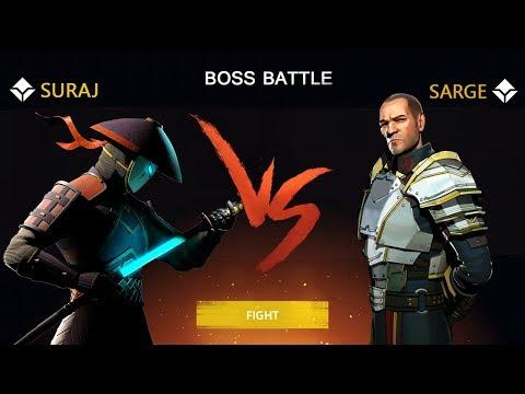 Shadow Fight 3 Official Boss Battle SARGE - Walkthrough Part 3