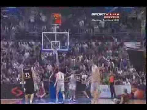 Davis Bertans - KK Partizan 2012/2013 Highlights