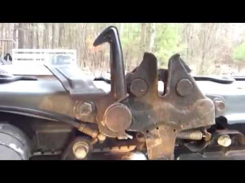 2017 Honda Odyssey >> RAV4 Hood Release/ Latch Won't Open 2001-2005 - YouTube