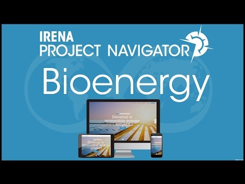 IRENA Project Navigator Webinar: Bioenergy