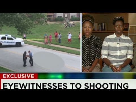 New video from the Michael Brown shooting death