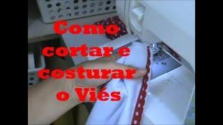 Como cortar e costurar o viés passo a passo