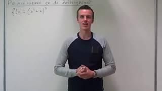 Primitiveren - Primitiveren en de kettingregel (VWO wiskunde B)