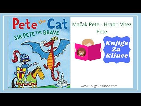 Mačak Pete: Hrabri Vitez Pete - AudioKnjiga/Slikovnica za Djecu - Knjige za Klince